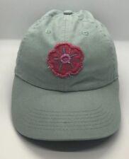 Life Is Good Cap Hat Flower Green Kids Girl Adjustable 100% Cotton