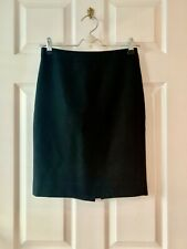 NWT J CREW No 2 Pencil Skirt Double Serge wool  Hthr pewter  P0 P2 P4 P6 P8