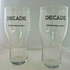 512 Brewery 10 anniversary glasses, super rare! Austin Texas Craft Microbrew
