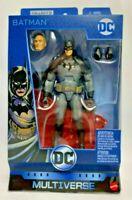 Mattel DC Multiverse 6in Gaslight Batman Action Figure Collect Connect Lex