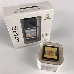 NEW Apple iPod NANO 6th Generation 8GB Orange A1366 + BONUS iWatchz Watch Band