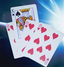 1948 Kümmelblättchen Zaubertrick mit vier Karten - The Phantom Card, Kartentrick