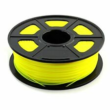 FILAMENTO PLA color AMARILLO 1.75mm 330 mts.  Bobina de 1 Kg,
