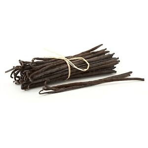 Madagascar Vanilla Beans | Whole Extract Grade B Pods for Making Vanilla Extract