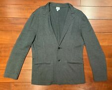 Armani Collezioni Men's Black & Silver Knitted Cardigan Jacket