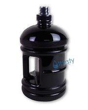 Water Sports Bottle Polycarbonate Black 1.89 L 64 oz Aqua Drink Jug Container