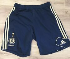 CHELSEA FOOTBALL SHORTS SQUAD ISSUE PLAYERS TRAINING KIT 2012 ADIDAS