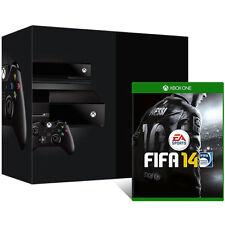 Microsoft Xbox One Day One Edition + FIFA 14 500GB Schwarz Spielekonsole