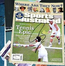 RAFAEL NADAL Signed Sports Illustrated *JSA COA *RAFA  Wimbledon