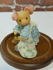 Vintage Tlp this little piggy *Sweeping Beauty* enesco 1997 edition~decor~Cute