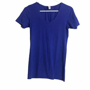 Under Armour Long & Long Scoop V-Neck Fitted All Season Gear Shirt Top Small
