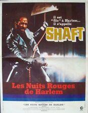 SHAFT French Petite movie poster BLAXPLOITATION RICHARD ROUNDTREE 1971