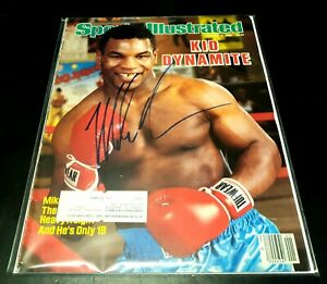 1986 MIKE TYSON Signed Sports Illustrated Full Magazine! 🔥GORGEOUS🔥
