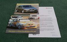 April 1997 VAUXHALL VECTRA DRIVE '97 PROMOTION MAILER  BTCC VECTRA UK BROCHURE
