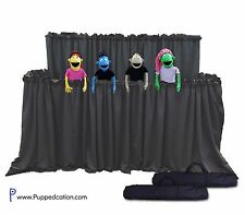 Classroom Puppet Stage XL - 2 Tier Portable Tripod Puppet Theater | Ministry Pro