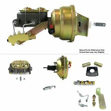 """1965-70 Chevy Full Size FW Mount Pwr 9"""" Single Booster Kit LS Swapped Disc/Disc"""