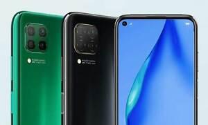 Huawei P40 Lite Midnight Black, Factory Unlocked, 128GB Mem, 6GB RAM