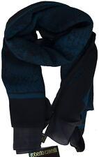Roberto Cavalli Women Men Silk Scarf Shawl Made Italy Sciarpa Donna Uomo  Foular