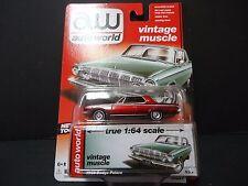 Auto World Dodge Polara 1963 Ultra Red 1/64 64032B CHASE