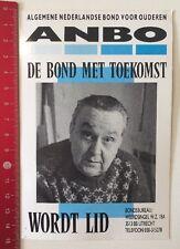 Aufkleber/Sticker: ANBO - Algemene Nederlandse Bond Voor Ouderen (10061655)