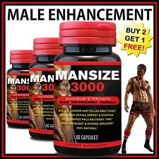 MALE PENIS ENLARGER GROWTH PILLS BIGGER LONGER THICKER HERBAL SEXUAL PERFORMANCE