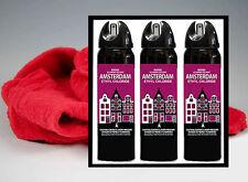(3) Amsterdam Cleaning Solvent Maximum Impact Ethyl Chloride w/ Polishing Cloth