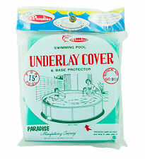 Paradise Swimming Pool Underlay Base Protector Cover For 15' ft Intex Pools