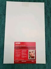 """ILFORD Galerie Smooth Pearl Pro Inkjet Photo Paper 11""""x17"""" *50 Sheets* 290 gsm"""