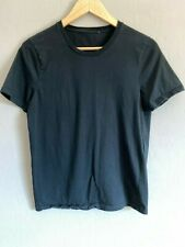 Gucci Men's Short Sleeve Crew-Neck T-Shirt Black Size Small Cotton Italy