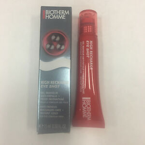 BIOTHERM HOMME High Recharge Eye Shot Anti Fatigue MASSAGER CARE 15ml/0.5oz