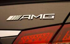 Insignia de Arranque de Mercedes AMG plata metal cromo ABS para SLK CLK GL ML a 45 B C 63 E