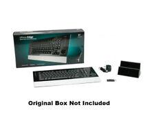 Logitech diNovo Edge Rechargeable Wireless Bluetooth Keyboard 967685-0403 w/Dock