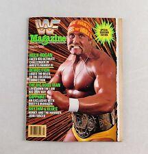 Hulk Hogan Ultimate Warrior March 1990 WWF Wrestling Magazine Raw WWE WCW