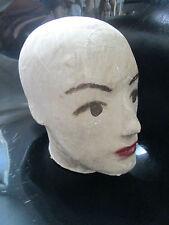 VINTAGE 50s MANNEQUIN HEAD