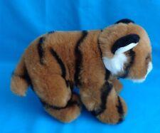 San Diego Zoo's Wild Animal Park Baby Tiger Plush Toy EUC Handmade in Indonesia