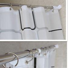 70-120CM STAINLESS ADJUSTABLE TENSION DOOR ROOM BATHROOM SHOWER CURTAIN POLE ROD