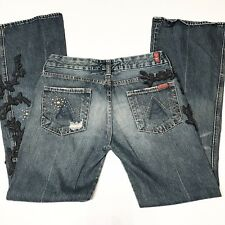 Seven for all Mankind Jeans  The Great China Wall.  Sz29 Womens Boot Cut Medium