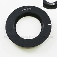 AF Confirm M42 screw mount Lens to Canon EOS EF Adapter 7D 60D 550D 600D black