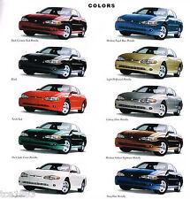 Big 2000 Chevrolet MONTE CARLO Dealer Brochure / Catalog: LS,SS