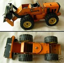 Old tin toy model car ROAD DOZER RIPPER USSR 1973