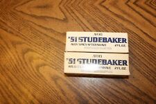 Vintage Avon 51 Studebaker decanters