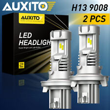 AUXITO H13 9008 CSP LED 6000K Headlight Bulb Kit High Low Beam 24000LM A-PLUS