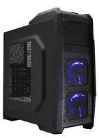 CASE ATX DRAGONPOWER TORNADO CON ALIMENTATORE 600W USB3 GAMING SERIES LED BLUE