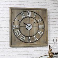 Orologi da parete quadrati a batteria metallo