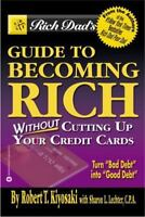 Rich Dad's Guide to Becoming Rich paperback by Robert Kiyosaki FREE SHIPPING