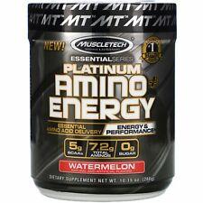 Platinum Amino Plus Energy, Watermelon, 10.15 oz (288 g)