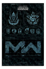 """Call Of Duty Modern Warfare Fractions Gaming Poster Official Licensed 24x36"""" New"""