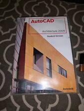 Autodesk AutoCAD 2009 Program Software Discs Architectural Desktop Architecture