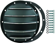 """Chevy Black Aluminum Finned 10 Bolt 8-1/2"""" Differential Cover Bolts & Gasket"""
