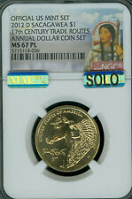 2012-D SACAGAWEA TRADE DOLLAR NGC MS67 PL PQ MAC SOLO FINEST MAC SPOTLESS *